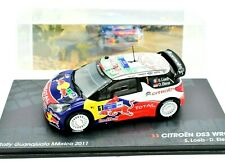 MODELLINO AUTO RALLY RALLYE SCALA 1:43 CITROEN DS3 WRC DIECAST MODELLISMO IXO