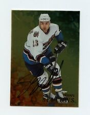 98-99 BE A PLAYER BAP SIGNATURE AUTOGRAPH AUTO GOLD #145 BRIAN BELLOWS *58319
