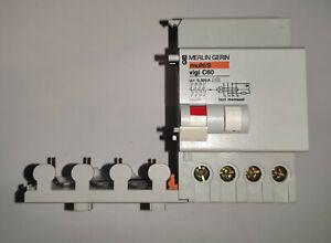 Schneider / Merlin Gerin 26533 Differenzstromblock Vigi C60 4P 25A 300mA 4-polig