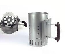 Starter per barbecue Bbq kit accensione carbone carbonella ciminiera - Rotex