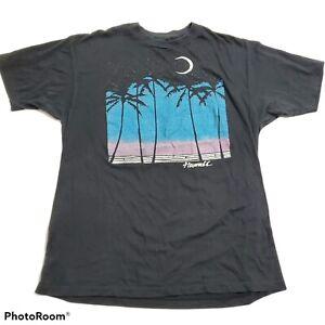 Vintage 80s Hawaii Tshirt Tee Hanes 50/50 Womens XL Mens M Single Stitch Faded