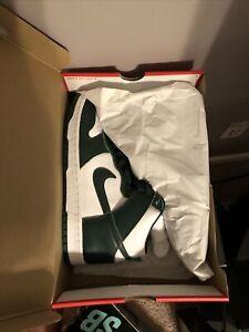 "Nike Dunk High ""Spartan"" Green Size 9"