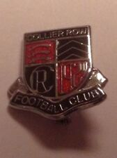 COLLIER ROW FOOTBALL CLUB OFFICIAL PIN BADGE BY REEVES 1980'S VERY GOOD CON