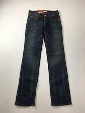 LEVI'S 570 STRAIGHT jeans-W30 L34-Bleu Marine Laver-Neuf avec étiquettes