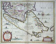Mercator Hondius Sud America Magellan FUOCO PAESE-Patagonia freti Magellanici 1606