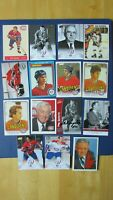 MONTREAL CANADIENS  (91 DIFF)  cards & postcards 1970 / 2008  w/ SIGNED AUTO ' s