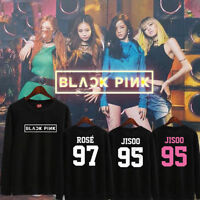 KPOP BLACKPINK Sweater SQUARE ONE JENNIE Sweatershirt Unisex Hoodie Pullover