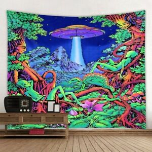 tapestry mushroom psychedelic wall cloth background new wall art room home decor