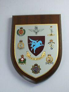 5th Airbourne Brigade Regimental Sergeants Mess Wall Plaque Shield