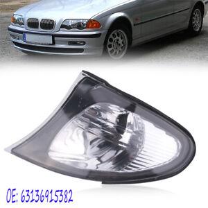 1x Left Side Turn Signal Corner Light Clear Lens for BMW 3 Series E46 02-05