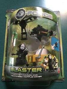 G-FORCE ACTION FIGURE BLASTER NEW SEALED Disney Cannon Waffle Maker Toy Mice Rat