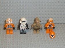 LEGO® Star Wars 4x Figura Clon Trooper Jedi 10188 75159 75192 9516 Accesorios F165