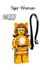 LEGO MINIFIGURA  SERIE 14  `` TIGER WOMAN ´´  REF 71010 NUEVO A ESTRENAR.