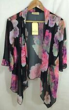 Polyester Kimono Floral Jumpers & Cardigans for Women