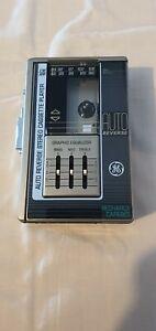NICE VERY RARE GE 3-5477A Walkman Cassette Tape Player Refurbished **NEW BELT**