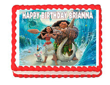 Moana Party Edible Cake image cake topper decoration - personalized free!