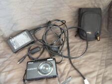 Nikon Coolpix S570 12.0MP Black Digital Camera ~ Excellent  Accessories