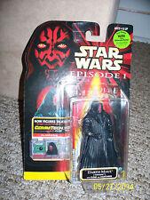 Star Wars Darth Maul Tatooine Jedi Action Figure Hasbro Lightsaber CommTech Chip