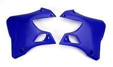 Yamaha YZ125 YZ250 1996-01 BLUE Radiator Shrouds NEW! Replaces 99999-04074 04076