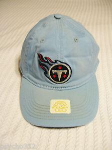 TENNESSEE TITANS AUTHENTIC NFL Retro Sport REEBOK Blue Caps
