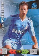 AZPIUCUETA # ESPANA MARSEILLE OM TRADING CARDS ADRENALYN PANINI FOOT 2011