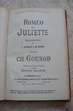 """ROMEO ET JULIETTE"" de Charles GOUNOD"