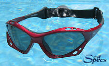 SeaSpecs Polarized Sunfire Water Sport Sunglasses FREE CASE + STICKER!