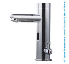 Sensor Faucet All in one Automatic Hands Free Contemporary Design (Hot & Cold)