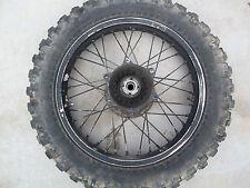 1983 Honda XR350R XR 350 R Rear wheel rim DID 17 X 2.15