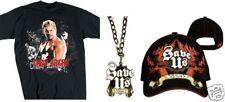 Tee shirt + Casquette + Pendentif CHRIS JERICHO WWE catch taille M enfant 7-8