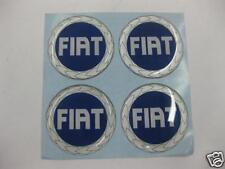 Wheel Center Emblem Set for Fiat 49mm 128 131 124 SPIDER PUNTO Palio -NEW- #100B
