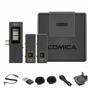 Comica vdlive 10 USB 2.4G Wireless Microphone for Camera DSLR Video Recording