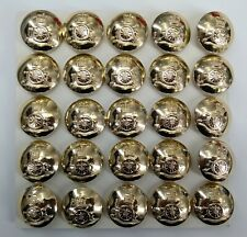 Genuine British Army Issue Royal Artillery Regiment Insignia Buttons 40L X25