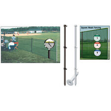 150' Outfield Fencing Pack w/Smart Pole Set - Dark Green