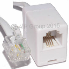 3m Rj11 extensión de banda ancha de plomo de Alta Velocidad Internet Módem Adsl Cable Blanco