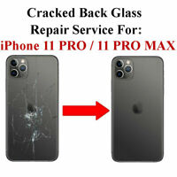 Apple IPhone 11 11 Pro 11 Pro Max Back Glass Repair Service - Top Quality Work