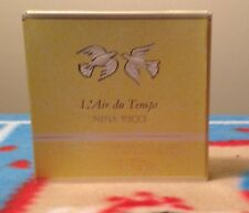 Nina Ricci L Air du temp refil perfumed body pressed powder 3.5oz/100g