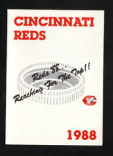 Cincinnati Reds--1988 Pocket Schedule--Marathon
