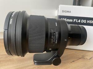 Sigma 105mm F1.4 Art DG HSM Sony E Mount Lens