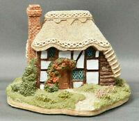 Lilliput Lane Strawberry Cottage with Deed 1990 & Box Handmade In Cumbria UK