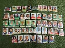 Bundle of 49 Panini Fifa World Cup 1998 Stickers inc. Shiny Croatia No. 535