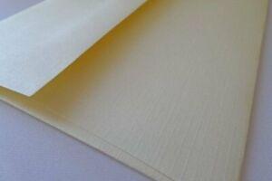 "50 Sundance Royal Linen Natural White A7 Size Envelopes  - 5.25""  x 7.25"" inches"