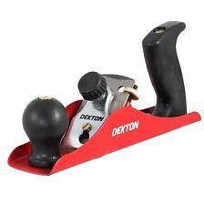 Dekton Wood Smoothing Plane Shaving Tool Comfort Grip Handle Carbon Steel Blade