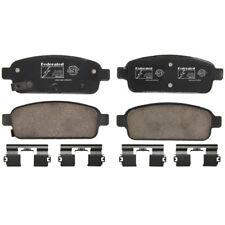 Disc Brake Pad Set-FWD Rear Federated D1468C