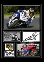 (#85) guy martin signed  size a4 photograph (reprint) great gift tt ##########