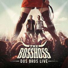 THE BOSSHOSS - DOS BROS LIVE   CD NEU