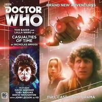 Baker, Tom : Casualties of Time (Doctor Who - The Fou CD FREE Shipping, Save £s