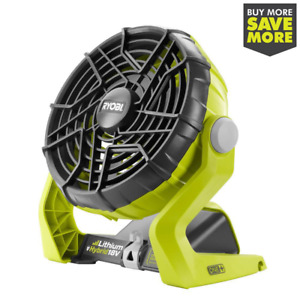 RYOBI 18v ONE+ Portable Fan (Tool Only) Cordless Indoor Outdoor Cooling Shop