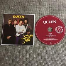 Queen  CD Single Card Sleeve Save Me / Let Me Entertain You