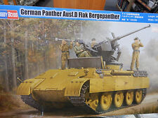 Hobby Boss 1/35 scale model kit German Panther Ausf.D Flak Bergepanther